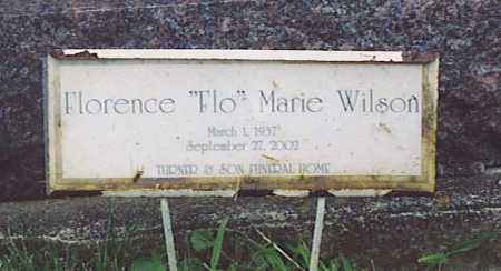 PIERCE, FLORENCE MARIE - Fayette County, Ohio | FLORENCE MARIE PIERCE - Ohio Gravestone Photos