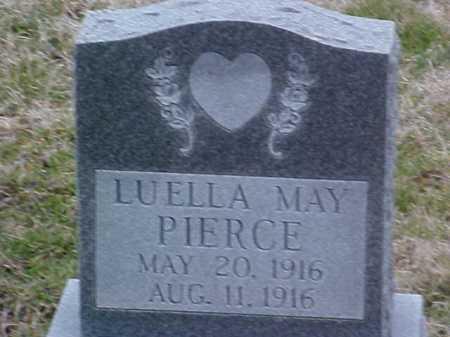 PIERCE, LOUELLA MAY - Fayette County, Ohio   LOUELLA MAY PIERCE - Ohio Gravestone Photos
