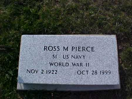PIERCE, ROSS M. - Fayette County, Ohio | ROSS M. PIERCE - Ohio Gravestone Photos