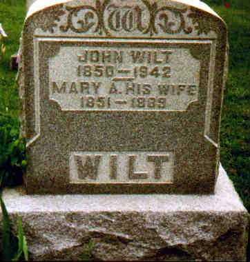 RECOB WILT, MARY A - Fayette County, Ohio | MARY A RECOB WILT - Ohio Gravestone Photos