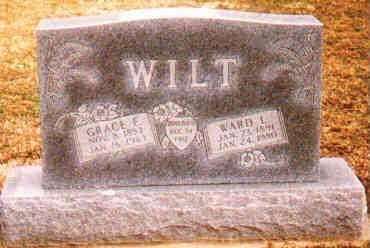 WILT, GRACE E - Fayette County, Ohio | GRACE E WILT - Ohio Gravestone Photos