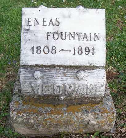 YEOMAN, ENEAS FOUNTAIN - Fayette County, Ohio   ENEAS FOUNTAIN YEOMAN - Ohio Gravestone Photos