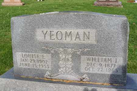 YEOMAN, WILLIAM I. - Fayette County, Ohio | WILLIAM I. YEOMAN - Ohio Gravestone Photos