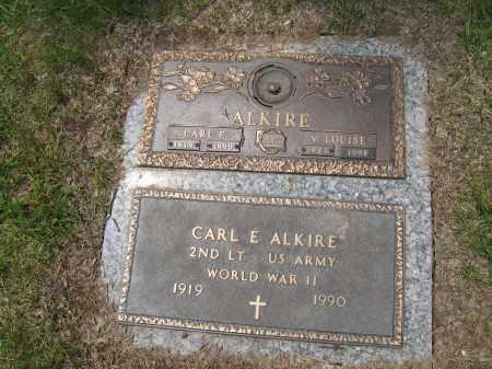 ALKIRE, CARL E. - Franklin County, Ohio | CARL E. ALKIRE - Ohio Gravestone Photos