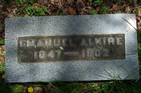 ALKIRE, EMANUEL - Franklin County, Ohio   EMANUEL ALKIRE - Ohio Gravestone Photos