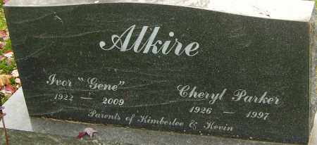 ALKIRE, IVOR - Franklin County, Ohio | IVOR ALKIRE - Ohio Gravestone Photos