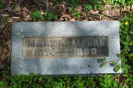 ALKIRE, MARY H. - Franklin County, Ohio | MARY H. ALKIRE - Ohio Gravestone Photos