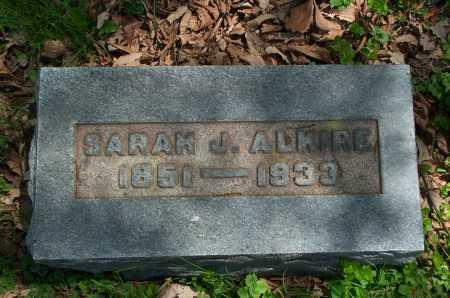 RAMMELSBURG ALKIRE, SARAH J. - Franklin County, Ohio | SARAH J. RAMMELSBURG ALKIRE - Ohio Gravestone Photos