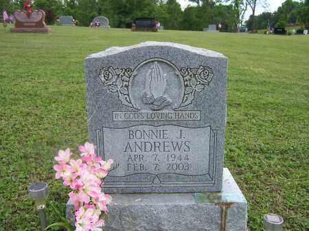 GLENN ANDREWS, BONNIE J. - Franklin County, Ohio   BONNIE J. GLENN ANDREWS - Ohio Gravestone Photos