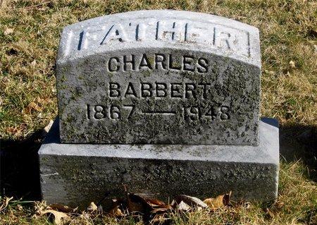 BABBERT, CHARLES - Franklin County, Ohio   CHARLES BABBERT - Ohio Gravestone Photos
