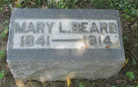 BEARD, MARY L. - Franklin County, Ohio | MARY L. BEARD - Ohio Gravestone Photos