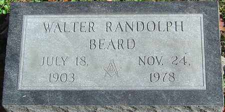 BEARD, WALTER RANDOLPH - Franklin County, Ohio | WALTER RANDOLPH BEARD - Ohio Gravestone Photos