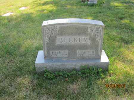 BECKER, GRACE H - Franklin County, Ohio | GRACE H BECKER - Ohio Gravestone Photos