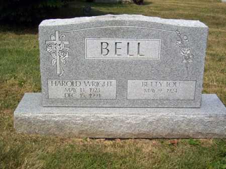 BELL, HAROLD WRIGHT - Franklin County, Ohio | HAROLD WRIGHT BELL - Ohio Gravestone Photos