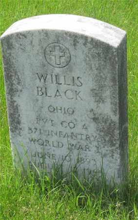 BLACK, WILLIS - Franklin County, Ohio | WILLIS BLACK - Ohio Gravestone Photos