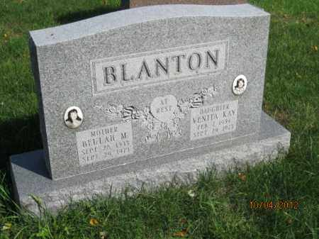 BLANTON, BEULAH M - Franklin County, Ohio | BEULAH M BLANTON - Ohio Gravestone Photos