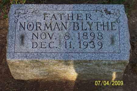 BLYTHE, NORMAN - Franklin County, Ohio | NORMAN BLYTHE - Ohio Gravestone Photos