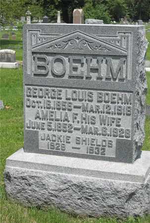 BOEHM, AMELIA F. - Franklin County, Ohio | AMELIA F. BOEHM - Ohio Gravestone Photos