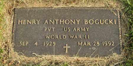 BOGUCKI, HENRY ANTHONY - Franklin County, Ohio   HENRY ANTHONY BOGUCKI - Ohio Gravestone Photos