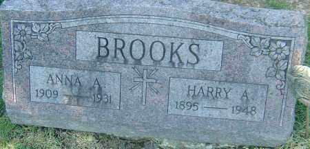 BROOKS, HARRY ALDOUS - Franklin County, Ohio | HARRY ALDOUS BROOKS - Ohio Gravestone Photos