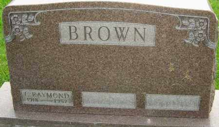 BROWN, CHARLES RAYMOND - Franklin County, Ohio | CHARLES RAYMOND BROWN - Ohio Gravestone Photos