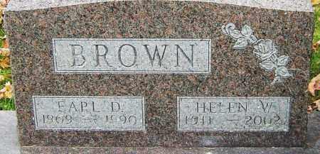 BROWN, EARL - Franklin County, Ohio   EARL BROWN - Ohio Gravestone Photos