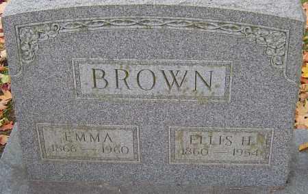 BROWN, ELLIS H - Franklin County, Ohio   ELLIS H BROWN - Ohio Gravestone Photos
