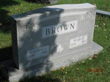 BROWN, HASTEN LEE - Franklin County, Ohio | HASTEN LEE BROWN - Ohio Gravestone Photos