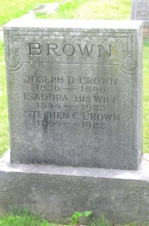 BROWN, ISADORA - Franklin County, Ohio | ISADORA BROWN - Ohio Gravestone Photos
