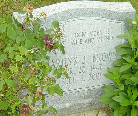 BROWN, MARILYN J - Franklin County, Ohio   MARILYN J BROWN - Ohio Gravestone Photos