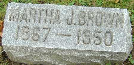 BROWN, MARTHA JANE - Franklin County, Ohio | MARTHA JANE BROWN - Ohio Gravestone Photos
