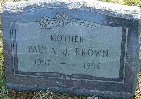 BROWN, PAULA - Franklin County, Ohio | PAULA BROWN - Ohio Gravestone Photos