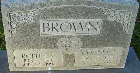 BROWN, VIRGINIA - Franklin County, Ohio | VIRGINIA BROWN - Ohio Gravestone Photos