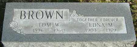 BROWN, EDNA M - Franklin County, Ohio | EDNA M BROWN - Ohio Gravestone Photos
