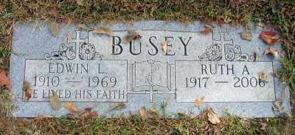 BUSEY, EDWIN L. - Franklin County, Ohio | EDWIN L. BUSEY - Ohio Gravestone Photos