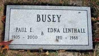 BUSEY, EDNA - Franklin County, Ohio | EDNA BUSEY - Ohio Gravestone Photos
