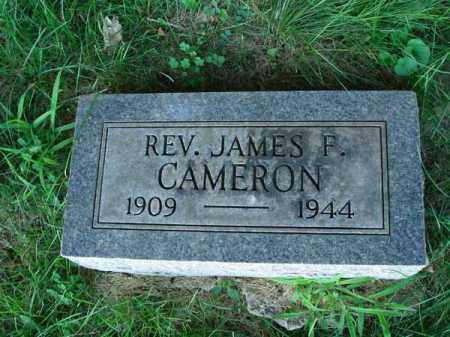 CAMERON, JAMES F. - Franklin County, Ohio | JAMES F. CAMERON - Ohio Gravestone Photos