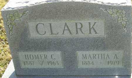 CLARK, HOMER C - Franklin County, Ohio | HOMER C CLARK - Ohio Gravestone Photos