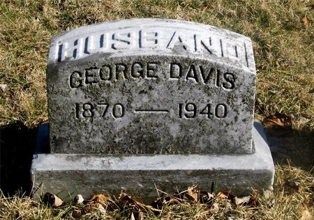DAVIS, GEORGE - Franklin County, Ohio | GEORGE DAVIS - Ohio Gravestone Photos