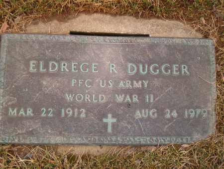 DUGGER, ELDREGE - Franklin County, Ohio | ELDREGE DUGGER - Ohio Gravestone Photos