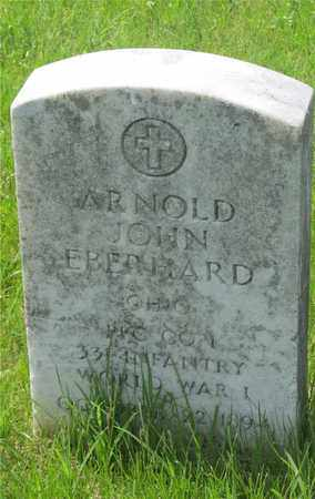 EBERHARD, ARNOLD JOHN - Franklin County, Ohio   ARNOLD JOHN EBERHARD - Ohio Gravestone Photos