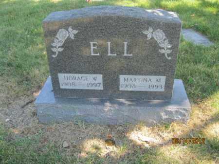 ELL, HORACE WALTER - Franklin County, Ohio | HORACE WALTER ELL - Ohio Gravestone Photos