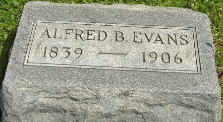 EVANS, ALFRED B - Franklin County, Ohio | ALFRED B EVANS - Ohio Gravestone Photos