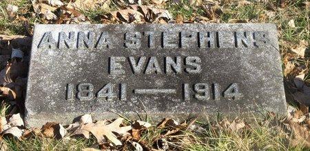 EVANS, ANNA - Franklin County, Ohio   ANNA EVANS - Ohio Gravestone Photos