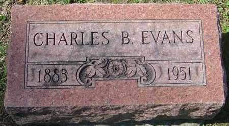 EVANS, CHARLES B - Franklin County, Ohio   CHARLES B EVANS - Ohio Gravestone Photos
