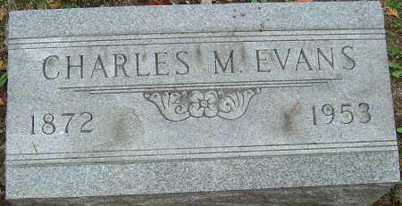 EVANS, CHARLES MORROW - Franklin County, Ohio | CHARLES MORROW EVANS - Ohio Gravestone Photos