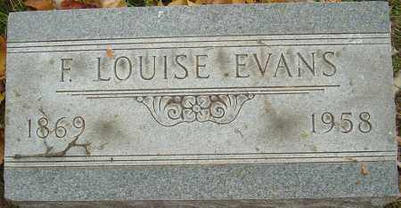 EVANS, FLORENCE LOUISE - Franklin County, Ohio | FLORENCE LOUISE EVANS - Ohio Gravestone Photos