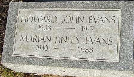 FINLEY EVANS, MARIAN - Franklin County, Ohio | MARIAN FINLEY EVANS - Ohio Gravestone Photos