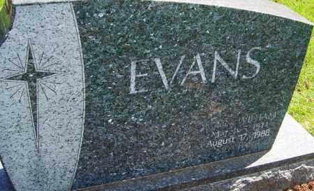 EVANS, JOHN WILLIAM - Franklin County, Ohio   JOHN WILLIAM EVANS - Ohio Gravestone Photos