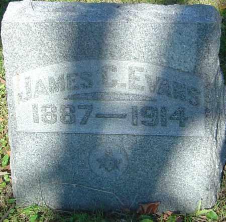 EVANS, JAMES C - Franklin County, Ohio | JAMES C EVANS - Ohio Gravestone Photos